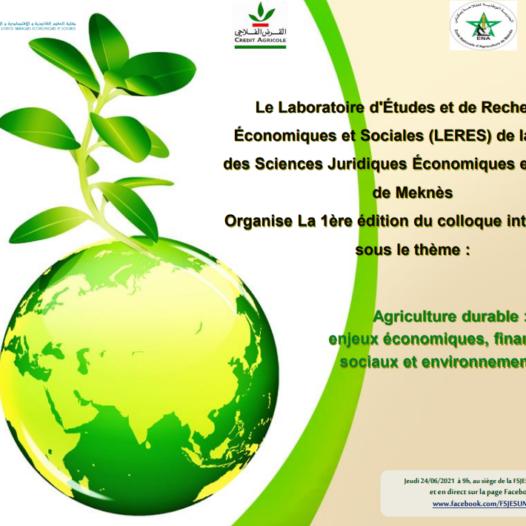 Agriculture durable : enjeux économiques, financiers, sociaux et environnementaux